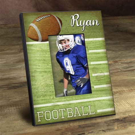 themed picture frames football photo frame custom picture frames