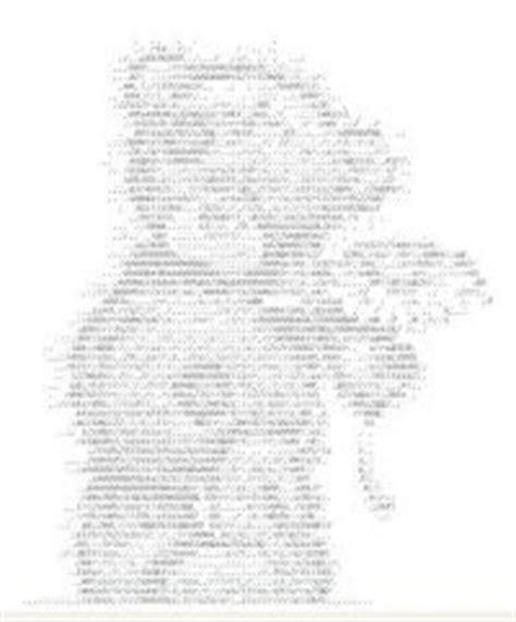 Рисунки буквами и цифрами