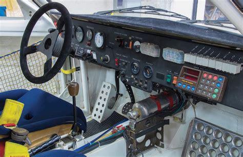 Rally Car Interior by Ari Vatanen S Peugeot 205 T16 Rally Car Columnm