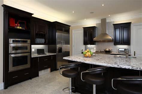 unbelievable kitchen designs featuring dark cabinets