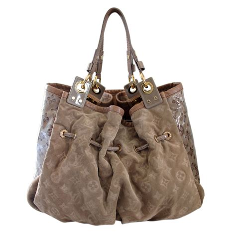 louis vuitton limited edition irene coco suede patent