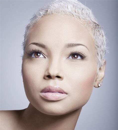black lady with short natural platinum hair 20 of the fairest hair ideas with platinum blonde and