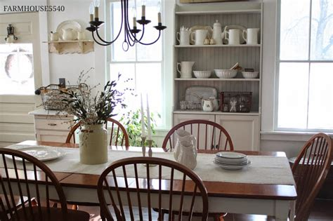 farmhouse dining room farmhouse dining room inspiration shady meadow cottage