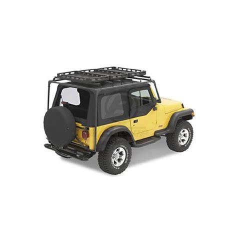 Jeep Cj7 Roof Rack by Hinged Roof Rack Cj7 Yj Tj Jeep Parts All The Jeep
