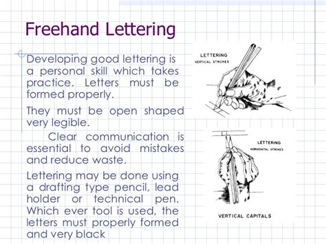 Engineering Drawing Template engineering drawing engineering lettering lesson 3