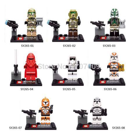Lego Brick Sy Space Wars 219b Mini Figures 109 Pcs sy265 8pcs lot wars race figures building blocks sets