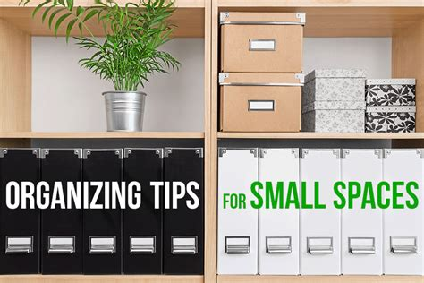 tiny living organizing tips for small spaces