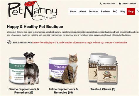 sitting website how to create a powerhouse pet sitting website pet nanny coach