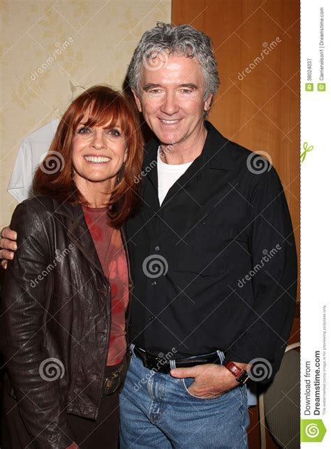 patrick duffy linda gray linda gray patrick duffy editorial photography image