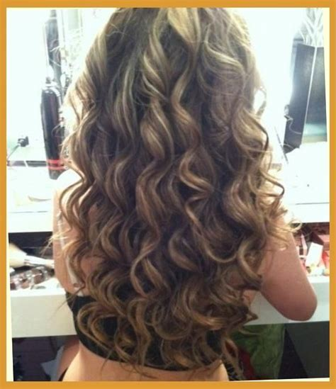 hairstyles for permed baby fine hair brown amp blonde smokey curls hairstyles and beauty tips