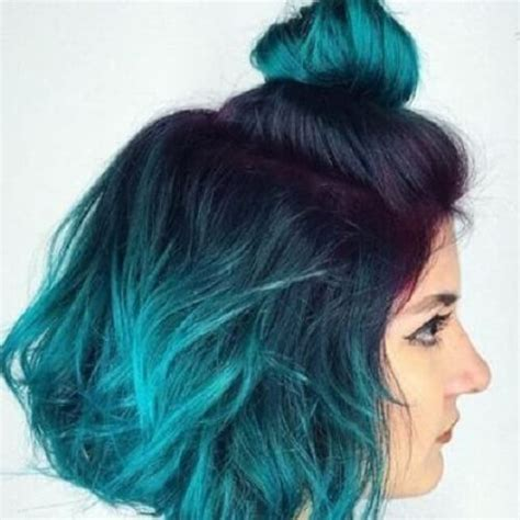 turcquoise short hair styles 50 beautiful ombre hair ideas for inspiration hair