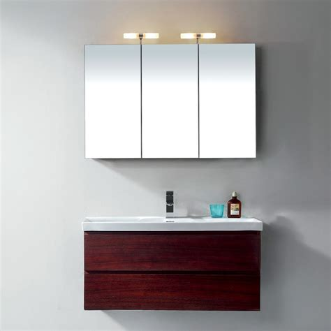 bathroom cabinet with lights and mirror interior american standard toilet parts hinkley outdoor