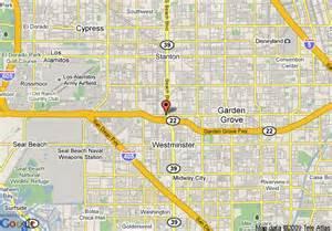 garden grove california map map of guesthouse international inn garden grove garden grove