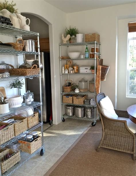 Wire Pantry Shelving Units 25 Best Ideas About Wire Shelves On Wire