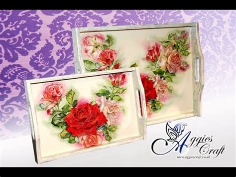 Decoupage Tutorials - decoupage tutorial pittorico shading and single step
