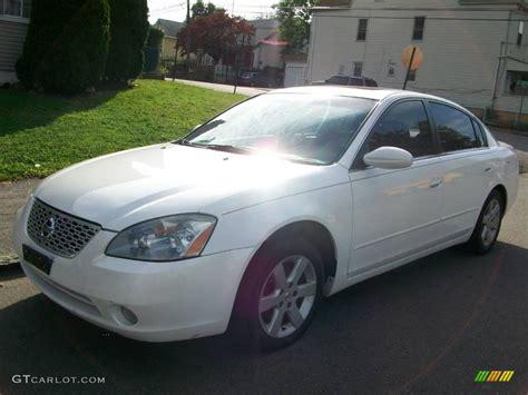 nissan white car altima 2003 satin white pearl nissan altima 2 5 s 18853883