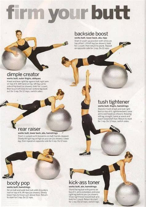 fun firm    gym ball exercises    fit