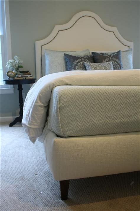 how to make a fabric headboard with legs 25 best ideas about upholstered box springs on pinterest