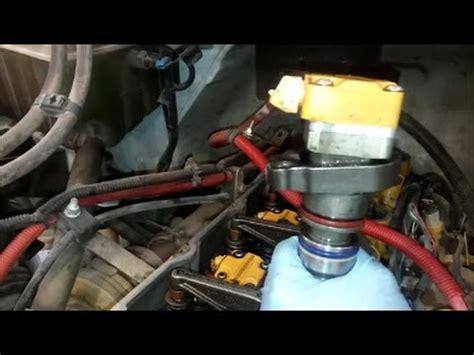 cat 3126b/e injectors part 2 installation | doovi