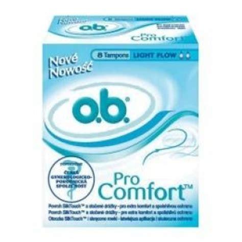ob pro comfort tons tony ob pro comfort light flow 8 szt domzdrowia pl