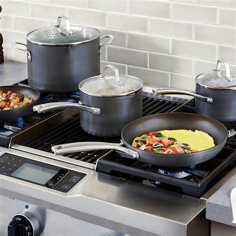 Calphalon Classic Nonstick 8 Pc Cookware Set Calphalon Kitchen Essentials Oven