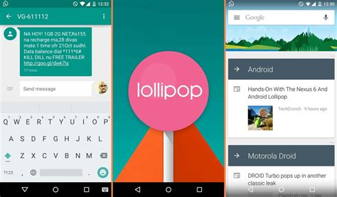 android lollipop version android lolipop 5 0 home