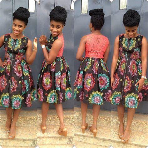 top ten extraordinary trendy ankara styles 2016 dabonke top 10 lovely asoebi ankara styles short gown 2015 dabonke