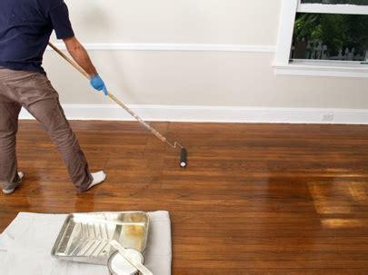 Polyurethane Hardwood Floors by How To Refinish Hardwood Floors Bob Vila