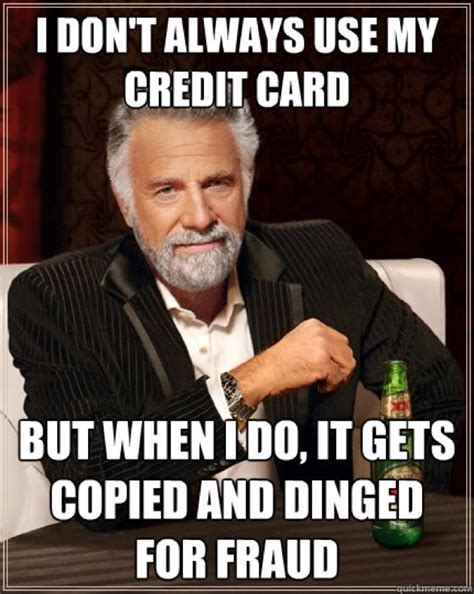 Credit Card Meme - a fun look at the world of credit cards
