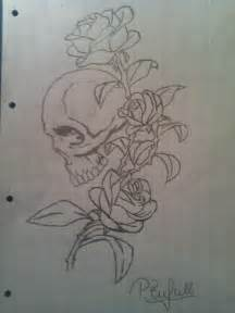 skull and rose drawing pneumatic 169 2017 apr 3 2012