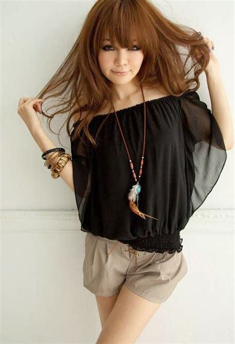 imagenes coreanas femeninas ropa coreana casual juvenil femenina moda pinterest