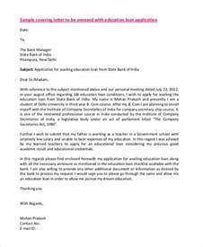 Education Loan Letter Writing 55 Free Application Letter Templates Free Premium Templates