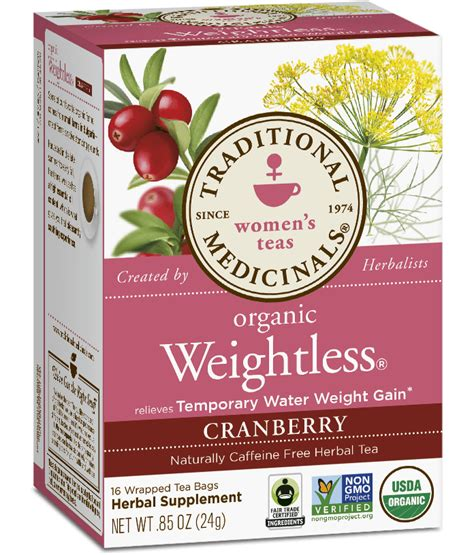 Traditional Medicine Tea Detox by Weightless 174 Cranberry Traditional Medicinals