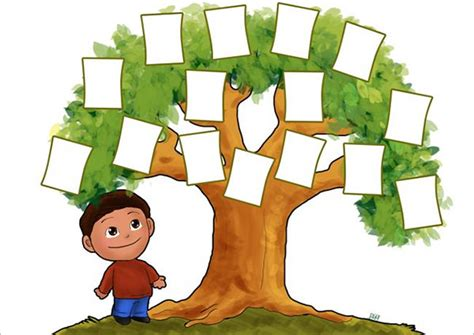 family tree template for kids 17 free word excel pdf