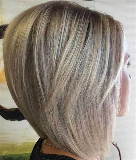 medium length stacked bob with layers graduated bob hairstyles are the latest trend graduated