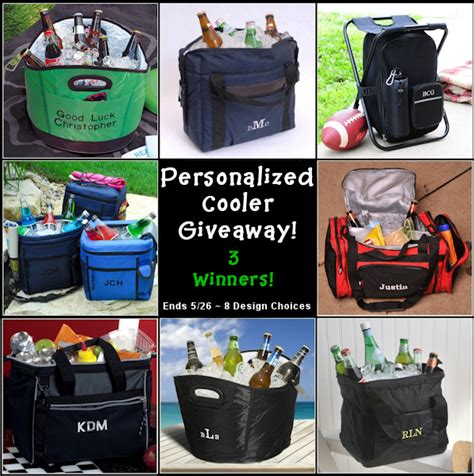 Cooler Giveaway - summer must haves personalized cooler giveaway 3 of them r we there yet mom