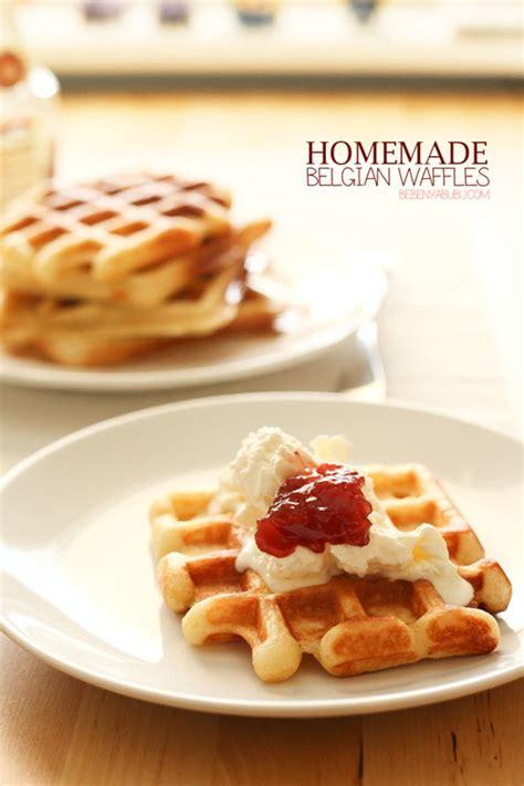 Panggangan Waffle cooking diary belgian waffles special edition