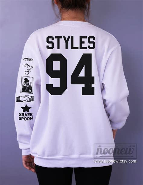 harry styles tattoo sweatshirt sweater crew neck shirt