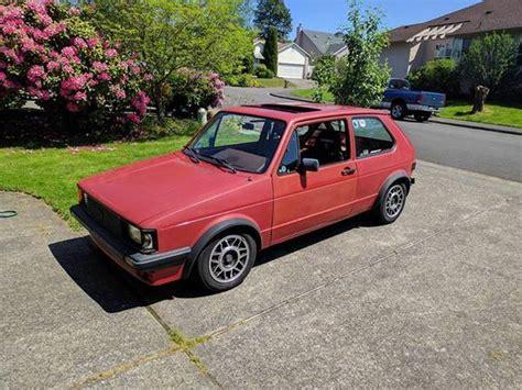 vintage volkswagen rabbit up for sale 1984 vw rabbit gti buy classic volks