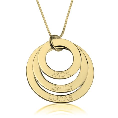 24k gold plated engraved rings necklace free