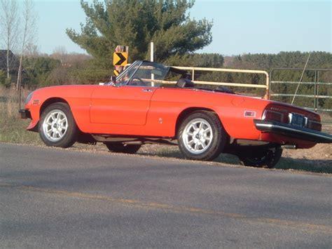 alfa romeo spider 1975 burnincerbuers 1975 alfa romeo spider specs photos