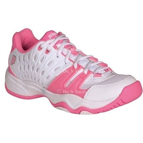 prince junior s t22 tennis shoe white pink from do it tennis