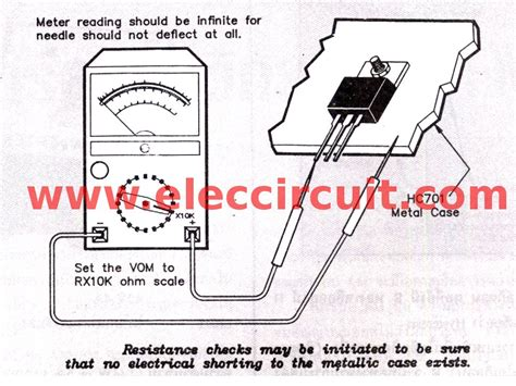 how to check integrated circuit using multimeter hobby electronics february 2014