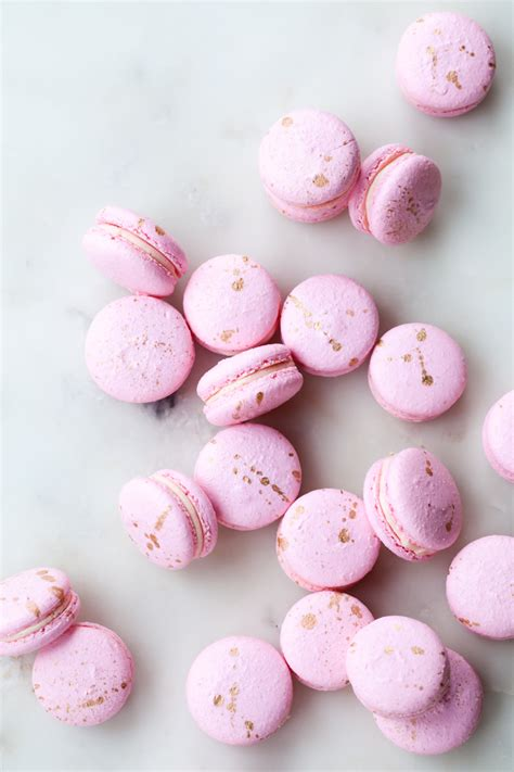 macarons with valrhona chocolate style sweet ca