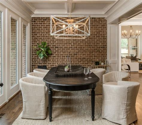 brick accent wall 17 best images about dining rooms on pinterest casual