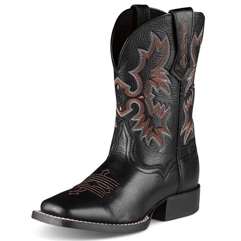 children s cowboy boots ariat childrens tombstone cowboy boots