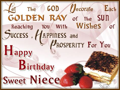 Birthday Quotes For A Special Niece Birthday Wishes For Niece Quotes Quotesgram