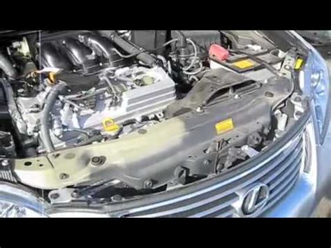 lexus es350 engine cleaning and removal of plastic engine