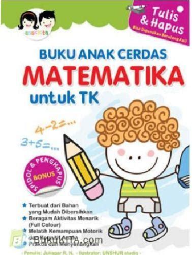 Buku Anak Belajar Matematika Ceria Untuk Paud Tk bukukita buku anak cerdas matematika untuk tk