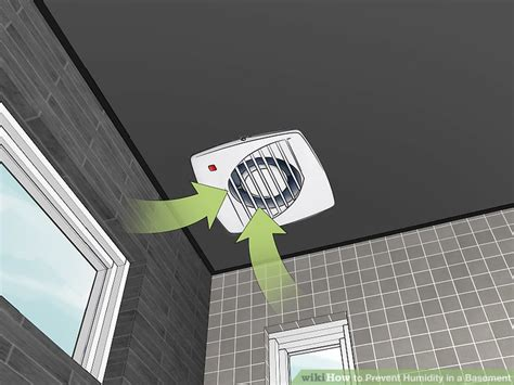 humidity in basement 3 ways to prevent humidity in a basement wikihow